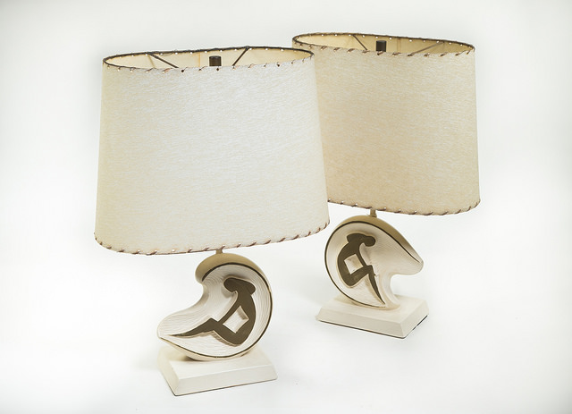 SOLD – Rare, Mid-Century Lamps